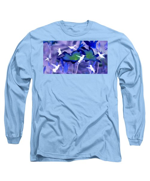 Spirit Of The Humming Bird Long Sleeve T-Shirt