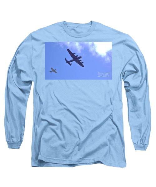 Spitfire  Lancaster Bomber Long Sleeve T-Shirt