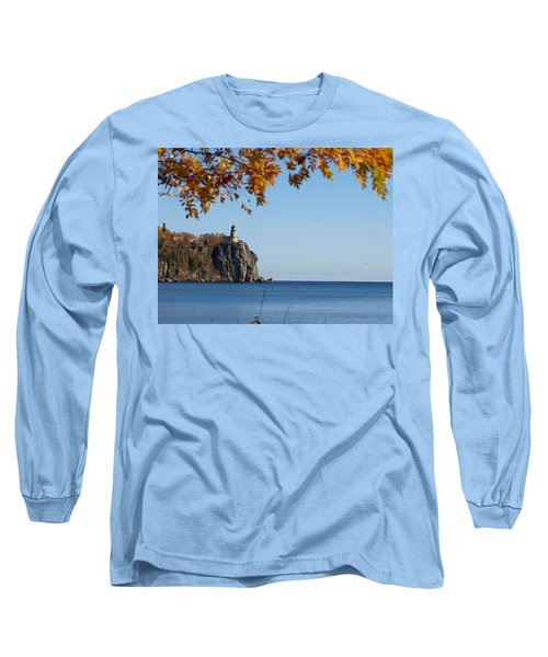 Split Rock Leaves Long Sleeve T-Shirt
