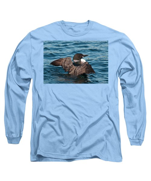 Long Sleeve T-Shirt featuring the photograph Spreading My Wings by Brenda Jacobs