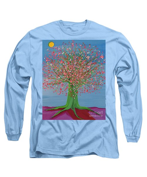 Spring Fantasy Tree By Jrr Long Sleeve T-Shirt