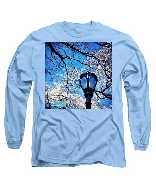 Spring In Central Park New York Long Sleeve T-Shirt
