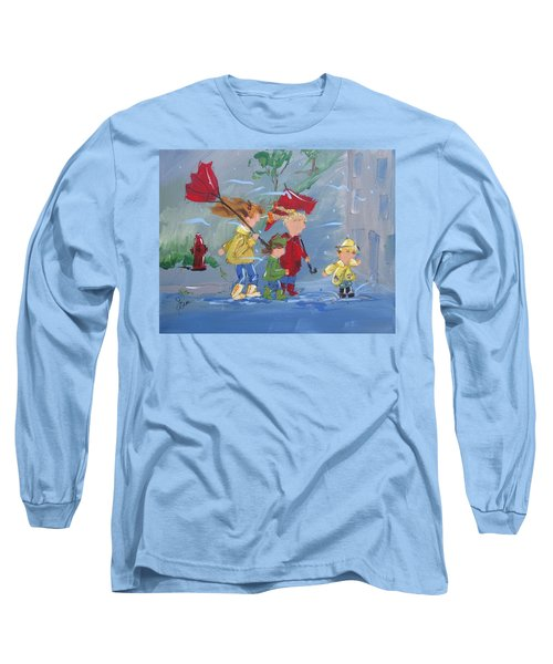 Spring In Our Step Long Sleeve T-Shirt by Terri Einer