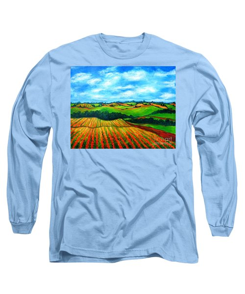 Spring In Prince Edward Island Long Sleeve T-Shirt