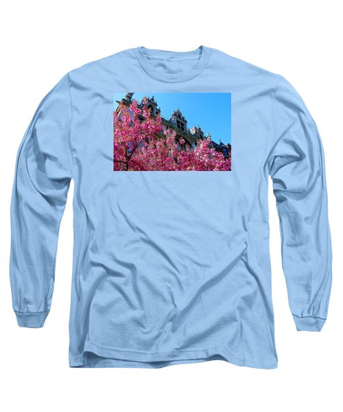 Springtime On Commonwealth Avenue Long Sleeve T-Shirt