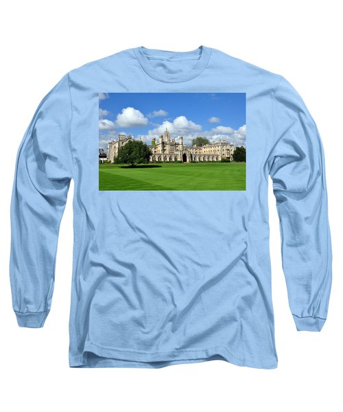 St. John's College Cambridge Long Sleeve T-Shirt
