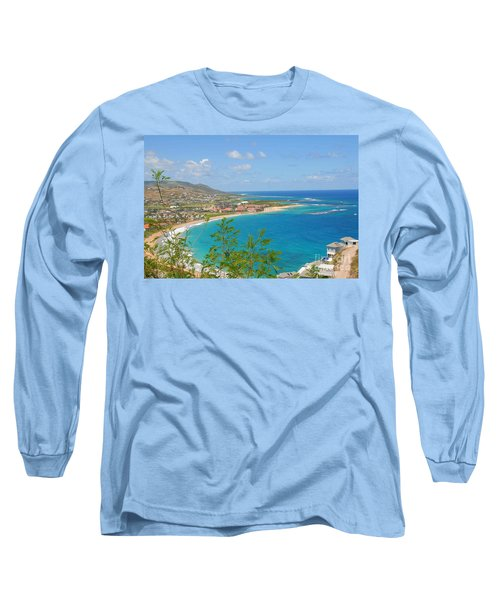 St. Kitts Long Sleeve T-Shirt by Cindy Manero