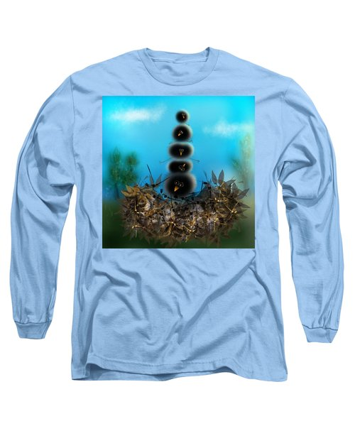 Stack O Fuzzies Long Sleeve T-Shirt