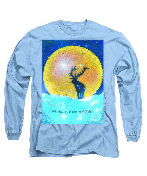 Stag Of Winter Long Sleeve T-Shirt