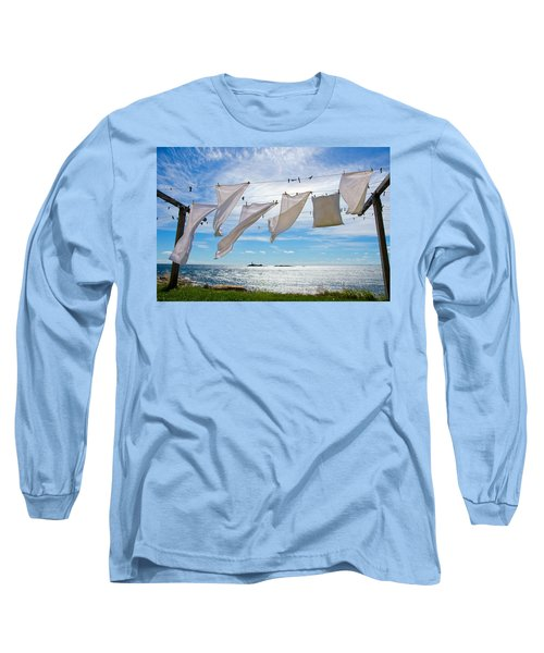 Star Island Clothesline Long Sleeve T-Shirt