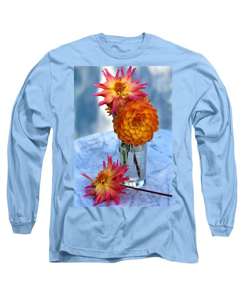 Long Sleeve T-Shirt featuring the photograph Starfire by Jeanette C Landstrom