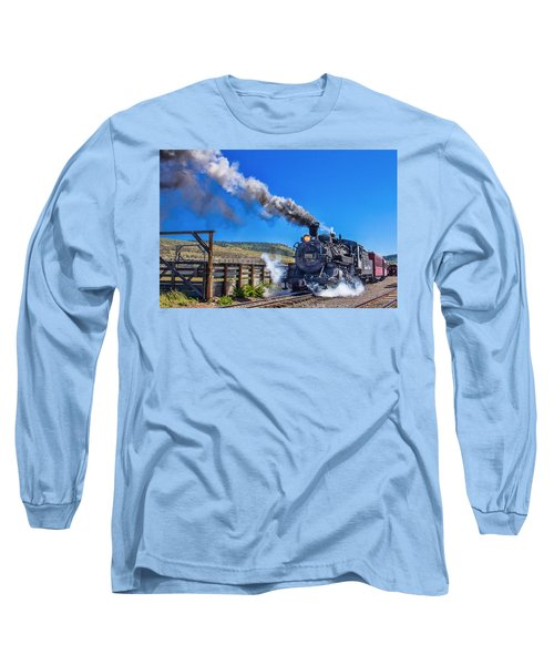 Steam Engine Relic Long Sleeve T-Shirt