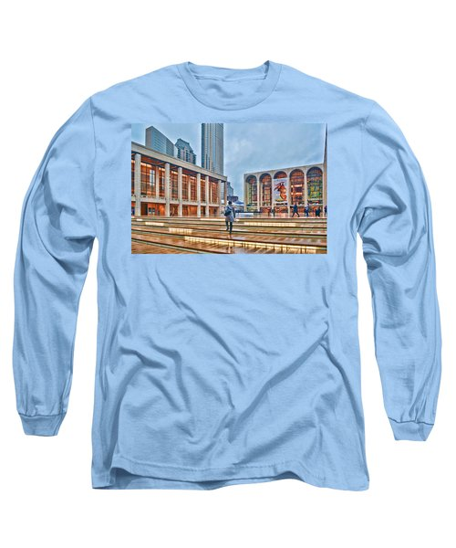 Steps To Fame Lincoln Center Long Sleeve T-Shirt