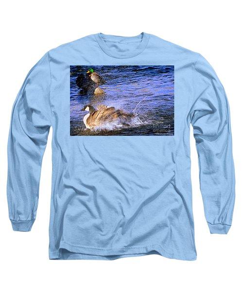 Stop Splashing Long Sleeve T-Shirt