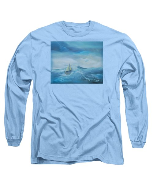 Stormy Seas Long Sleeve T-Shirt
