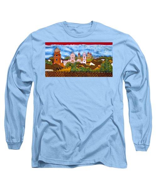 Street Art Granada Nicaragua 3 Long Sleeve T-Shirt