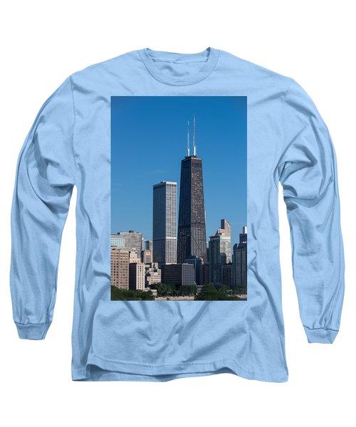 Streeterville Chicago Illinois Long Sleeve T-Shirt