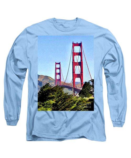 Strength In Beauty Long Sleeve T-Shirt by Jay Milo