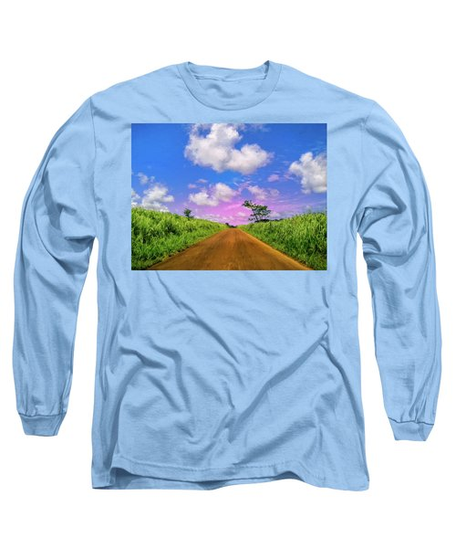 Sugar Cane Sunrise Long Sleeve T-Shirt