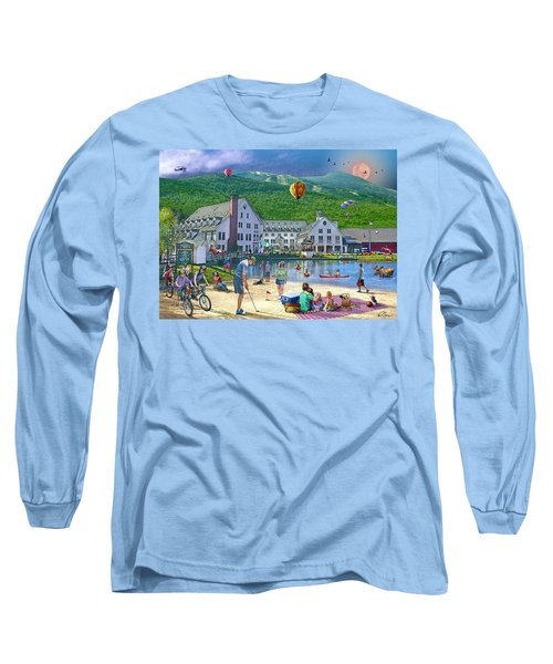 Summer In Waterville Valley Long Sleeve T-Shirt