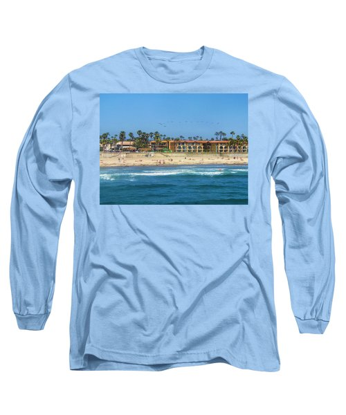 Summertime Long Sleeve T-Shirt by Tammy Espino