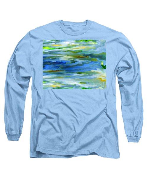 Sun Ray Reflection Long Sleeve T-Shirt by Cedric Hampton