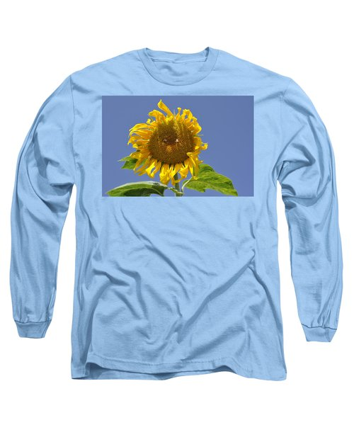 Sunflower At Latrun Long Sleeve T-Shirt