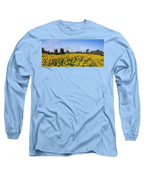 Sunflower Horizon Long Sleeve T-Shirt
