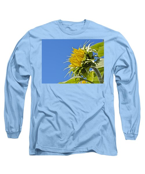 Long Sleeve T-Shirt featuring the photograph Sunflower by Linda Bianic