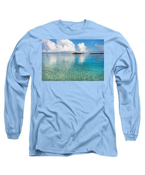 Sunny Invitation For  You. Maldives Long Sleeve T-Shirt