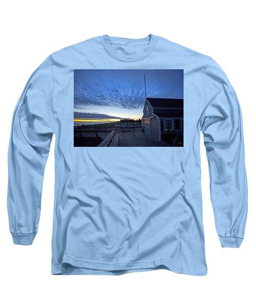Sunrise At Barnstable Yacht Club Long Sleeve T-Shirt