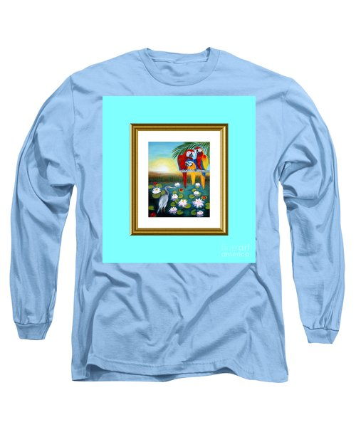 Sunrise In Paradise. Inspiration Collection Long Sleeve T-Shirt
