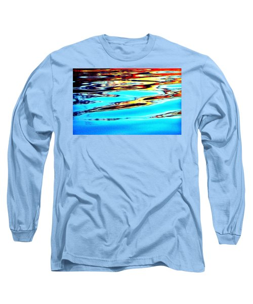 Sunset On Water Long Sleeve T-Shirt