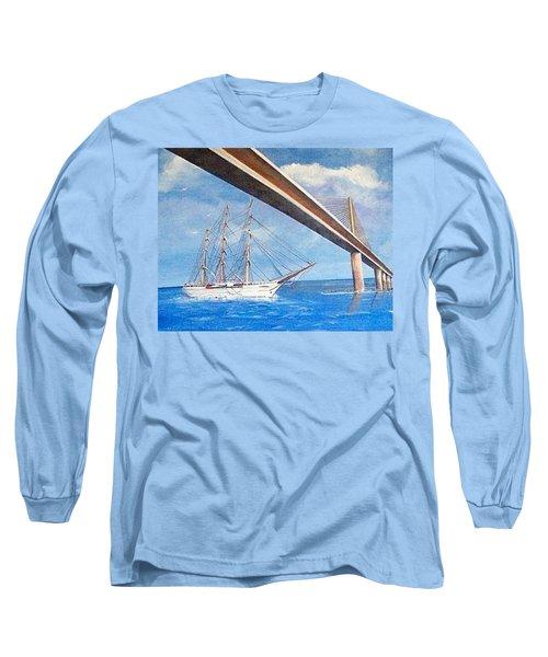 Sunshine Skyway Bridge  Long Sleeve T-Shirt