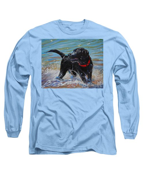 Surf Pup Long Sleeve T-Shirt by Molly Poole