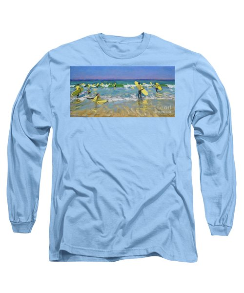 Surf School At St Ives Long Sleeve T-Shirt