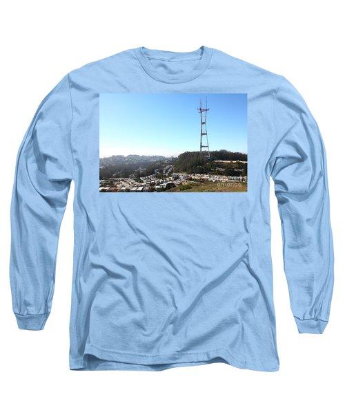 Sutro Tower San Francisco California 5d28068 Long Sleeve T-Shirt
