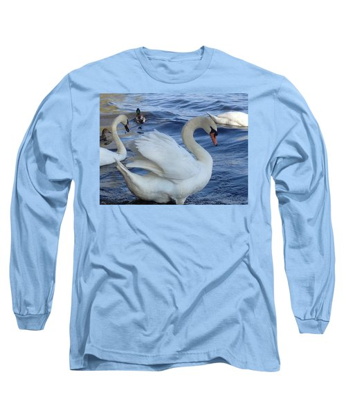 Swan Grace Long Sleeve T-Shirt