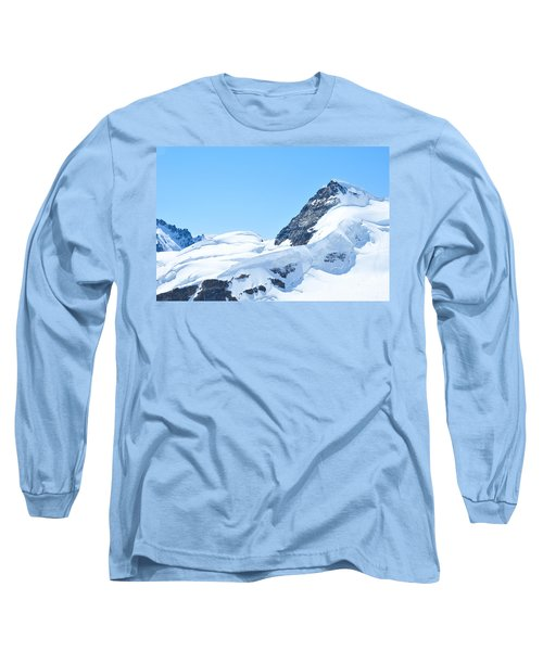 Long Sleeve T-Shirt featuring the photograph Swiss Alps by Joe  Ng