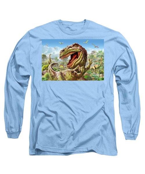 T-rex And Dinosaurs Long Sleeve T-Shirt