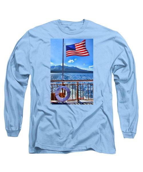 Tahoe Queen Lake Tahoe By Diana Sainz Long Sleeve T-Shirt