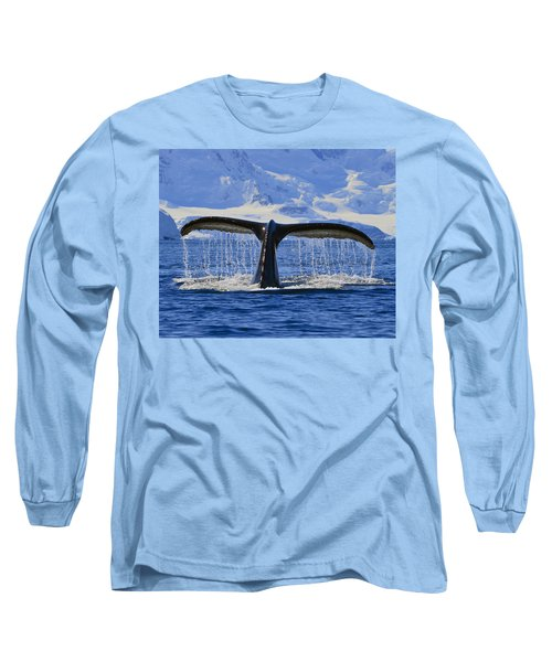 Tails From Antarctica Long Sleeve T-Shirt