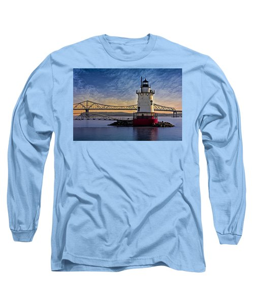 Long Sleeve T-Shirt featuring the photograph Tarrytown Light by Susan Candelario