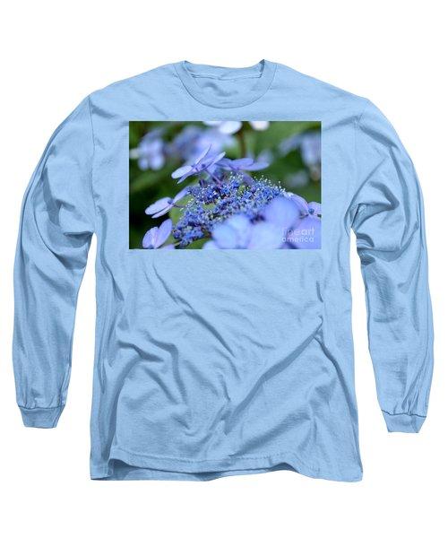 Taube Lacecap Hydrangea Long Sleeve T-Shirt