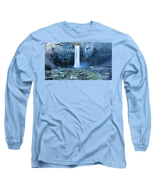 Taughannock Falls In Spring Long Sleeve T-Shirt