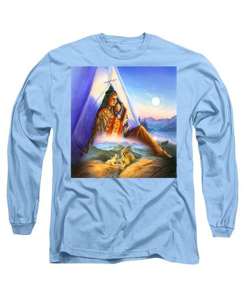 Teepee Of Dreams Long Sleeve T-Shirt