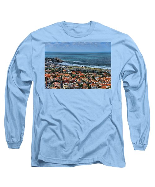 Long Sleeve T-Shirt featuring the photograph Tel Aviv Spring Time by Ron Shoshani