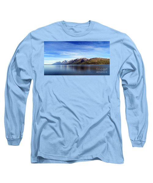 Tetons By The Lake Long Sleeve T-Shirt
