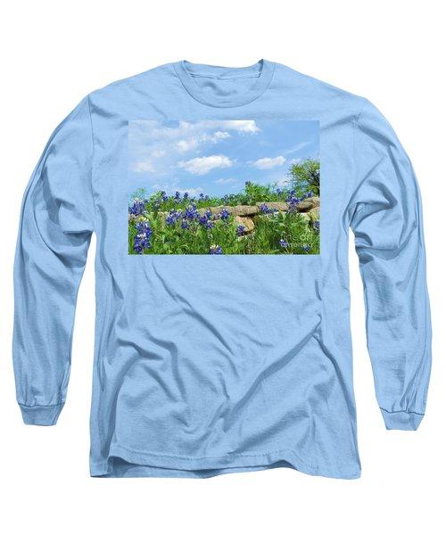 Texas Bluebonnets 08 Long Sleeve T-Shirt