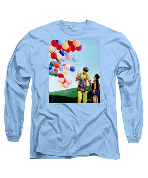The Balloon Man Long Sleeve T-Shirt
